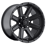 Ultra 195 Crusher Satin Black Wheels