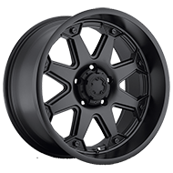 Ultra Wheels<br /> 198 Bolt Satin Black