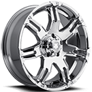 Ultra Wheels<br /> 237 Gauntlet Chrome