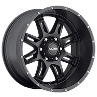 Ultra Wheels<br /> 241 Gunner Satin Black