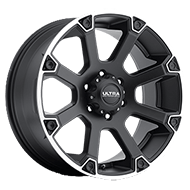 Ultra Wheels<br /> 245 Spline Satin Black