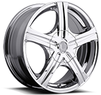 Platinum Wheels<br /> 403 Slalom Chrome