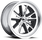 Ultra Wheels<br /> 454 Grey w/ Diamond Cut