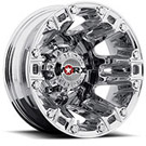 WORX Wheels Dually Beast 803 Rear <br/>Chrome