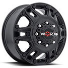 WORX Wheels Dually Beast 803 Front <br/> Satin Black
