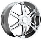 Platinum Wheels<br /> 220 Abyss Chrome
