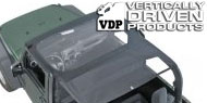 VDP KoolBreez™ Full Top Nylon Mesh for 1997-2006 Jeep TJ Wrangler