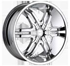 Veloche Wheels <br/>Victory 985 Chrome