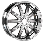 Veloche Wheels<br /> Tork 995 Chrome