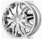 Veloche Wheels <br/>Vex 560 Chrome