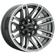 Vision Wheels 112 Assault </br>Gunmetal Machined Face