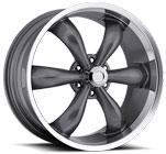 Vision Wheels <br>142 Legend 6 Gunmetal