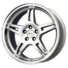 Voxx Wheels <BR>MG3 Silver