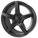 Voxx Wheels <BR>MGA Matte Black