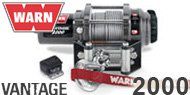 Warn Vantage 2000 ATV Winch