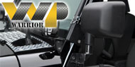 Warrior Products <br />Jeep Mirror and Light Brackets