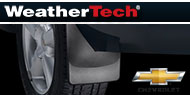 WeatherTech Mud Flaps <br />Chevrolet/GMC