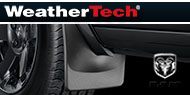 WeatherTech Mud Flaps <br />Dodge