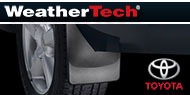WeatherTech Mud Flaps <br />Toyota