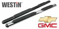 Westin Chevy GMC 4 Inch Oval Nerf Bars