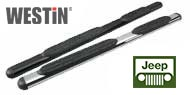 Westin Jeep 4 Inch Oval Nerf Bars