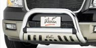 Westin Chrome Ultimate Bull Bars<br> for 2005-2010 Jeep Grand Cherokee WK & Commander XK