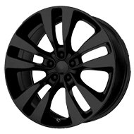 Wheel Replicas <br/> 2012 Charger SRT-8  <br/> Black