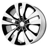 Wheel Replicas <br/> 2012 Charger SRT-8  <br/> Chrome