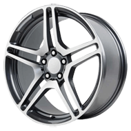 Wheel Replicas <br/> CL65  <br/> Gun Metal