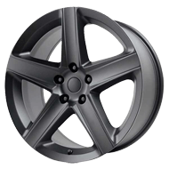 Wheel Replicas <br/> Jeep SRT-8  <br/> Matte Black