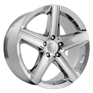 Wheel Replicas <br/> Jeep SRT-8  <br/> Chrome