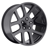 Wheel Replicas <br/> SRT-10 <br/> Matte Black