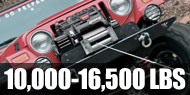 Winches - 10,000lb to 16,500lb Self Recovery
