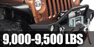 Winches - 9,000lb to 9,500lb Self Recovery