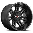 WORX Wheels Beast II 808 <br/> Satin Black