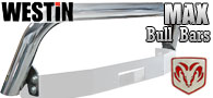 Westin Max Winch Tray Bull Bar/ Light Bar<br>Dodge