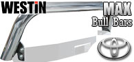 Westin Max Winch Tray Bull Bar/ Light Bar<br>Toyota