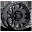 X102 Satin Black<br /> w/ Satin Black X-Lok Lip