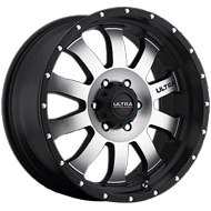 X105 Xtreme II Diamond Cut Face w/ Satin Black Wheels