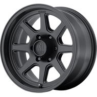 KMC XD301 Turbine Satin Black Wheels