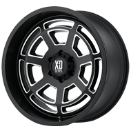 XD Wheels <br />XD824 Gloss Black Machined Face