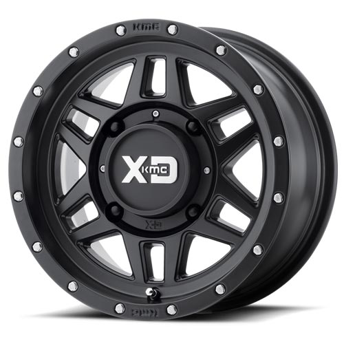 XD Wheels <br>XS128 Satin Black