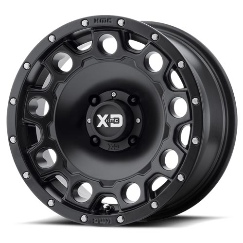 XD Wheels <br>XS129 Holeshot Satin Black