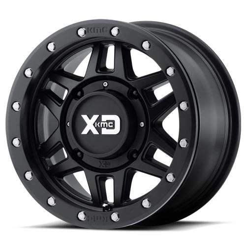 XD Wheels <br>XS228 Machete Beadlock Satin Black