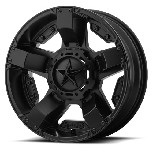 XD Wheels <br>XS811 Rockstar II Satin Black