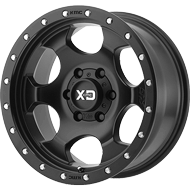 KMC XD131 RG1 Satin Black Wheels