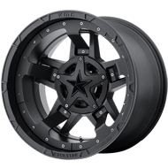 KMC XD827 RS3 Matte Black Wheels