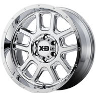 KMC XD828 Delta Chrome Wheels