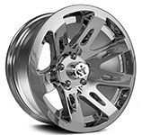 Rugged Ridge<br> XHD Jeep Wheels Chrome