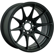 XXR 527 Series Flat Black Wheels